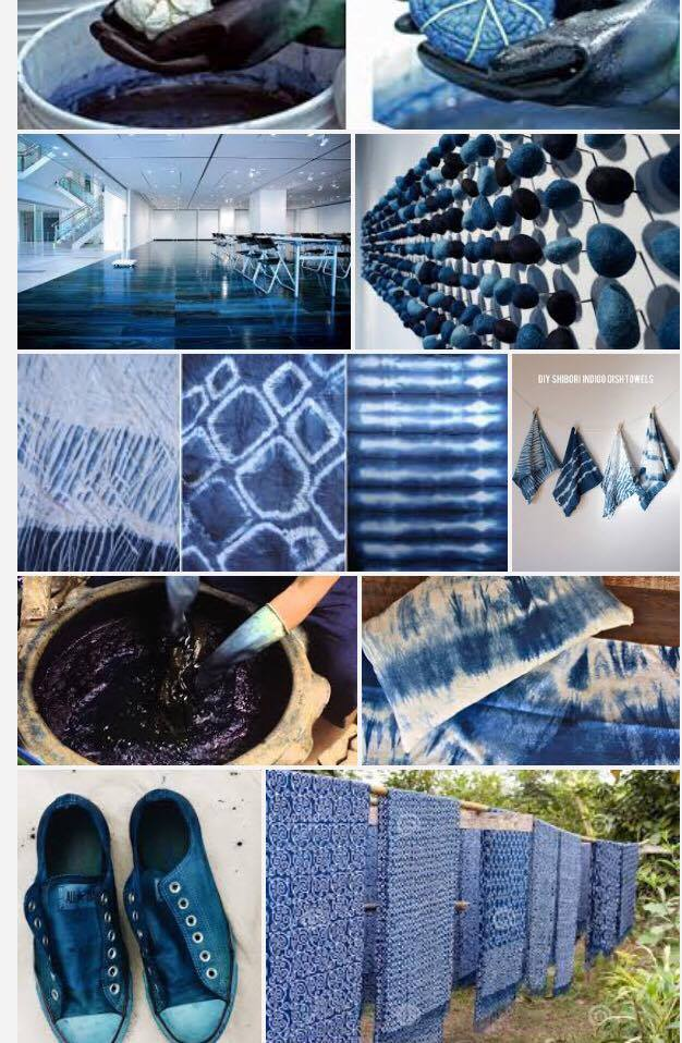 Friday, June 8, 2018:<br>Indigo Dyeing
