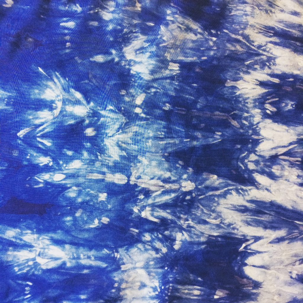 Sunday, March 18, 2018:<br>Indigo Dyeing with Artist, Maggie Howe