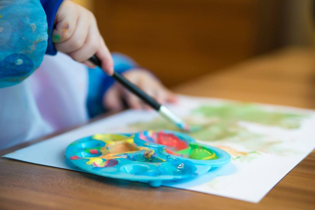 May 2 & May 9, 2018:<br>Spring Preschool Art Morning Session