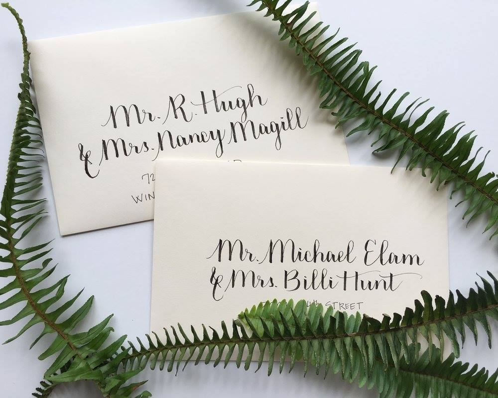 Saturday, November 10th: Holiday Calligraphy Cards, Beginner Level