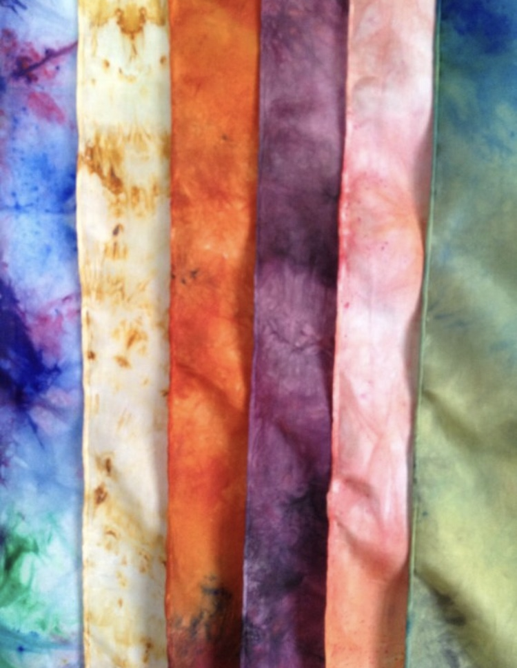 Thursday, October 25: Fast & Fun Dyed Silk Scarves
