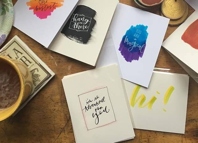 Saturday, February 16: Just Because Cards with Ink & Flourish